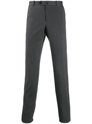 Incotex Tailored Tapered Leg Trousers Grey