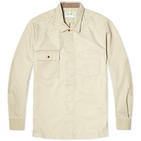 Over All Master Cloth Oamc Work Shirt Jacket Brown