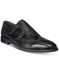 Bar Iii Men's Clint Double Monk Loafers Only At Macy's Men's Shoes Black