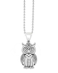 Rare Wonders Owl Pendant Necklace Lagos Silver