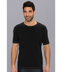Agave Denim R. August S S Crew Anthracite Men's T Shirt Pewter