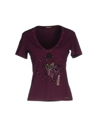 Galliano T Shirts Purple