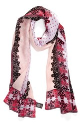 Vince Camuto Women's Floral Silk Scarf