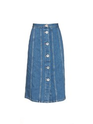 M.I.H. Jeans Simone Button Down Denim Skirt