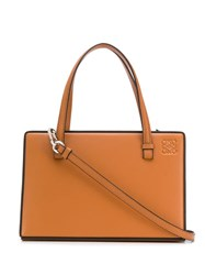 Loewe Box Tote Bag Brown