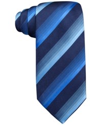 John Ashford Scott Stripe Tie Only At Macy's Blue