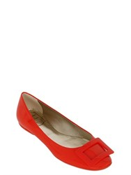 Roger Vivier 10Mm Gommette Patent Leather Ballerinas