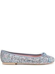 Pretty Ballerinas Rosario Sequined Ballerina Shoes 60