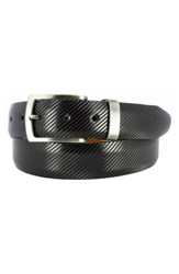 Remo Tulliani Sylvio Millerighe Leather Belt