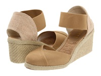 Lauren Ralph Lauren Charla Light Clove Women's Wedge Shoes Beige