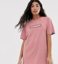 Napapijri Sox Tribe T Shirt In Pink