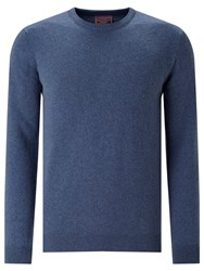 John Lewis Made In Italy Cashmere Crew Neck Jumper Airforce Blue
