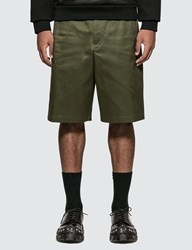 Prada Chino Shorts Green