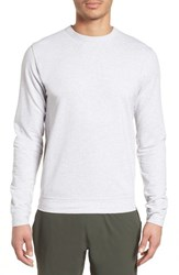 Tasc Performance Legacy Crewneck Sweatshirt Light Heather Gray