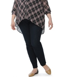 Motherhood Maternity Plus Size Skinny Jeans Dark Wash