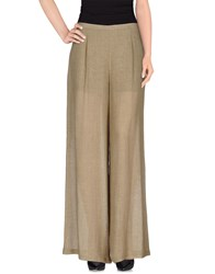 Laviniaturra Trousers Casual Trousers Women Khaki