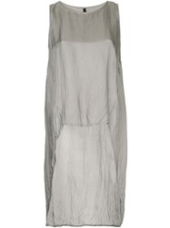 Taylor Washed Subtract Tunic Grey