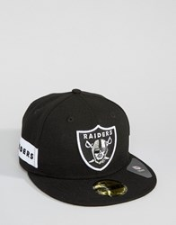 New Era 59Fifty Cap Fitted Oakland Raiders Side Logo Black