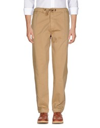 Franklin And Marshall Casual Pants Camel