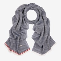 Bally Grip Jacquard Scarf Multicolor