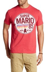 Fifth Sun Mario Is Go Tee Red