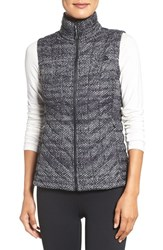 The North Face Women's 'Thermoball' Primaloft Vest Tnf Black Donegal Print