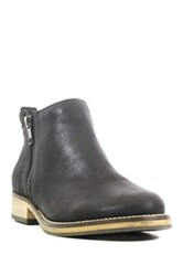 Chelsea Crew Floater Dual Zip Ankle Bootie Black