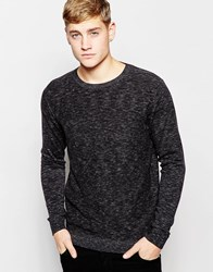 Jack And Jones Jack And Jones Knitted Crew Neck Jumper Black