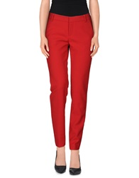 New York Industrie Casual Pants Red