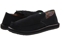 Sanuk Pick Pocket Black Men's Slip On Shoes