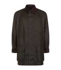 Barbour Bristol Waxed Jacket Male Racing Green