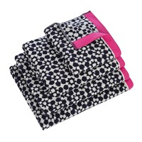 Joules Tile Geo Towel French Navy Blue