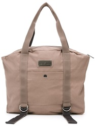 Adidas By Stella Mccartney Large Yoga Bag Nude And Neutrals