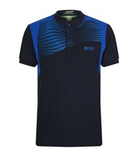 Hugo Boss Green Paddy Pro 1 Polo Shirt Male Blue