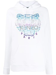 Kenzo Tiger Logo Embroidered Hoodie 60