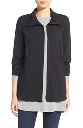 Women's Eileen Fisher Stretch Jersey High Collar Jacket
