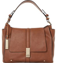 Dune Dennerson Slouchy Faux Leather Shoulder Bag Tan Synthetic