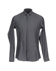 Alessandro Dell'acqua Shirts Steel Grey