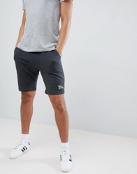 Tokyo Laundry Jersey Shorts With Neon Highlights Grey