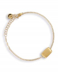 Marco Bicego Delicati 18K Gold Flat Rectangle Bead Bracelet