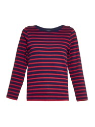 A.P.C. Iak Long Sleeved Striped Top