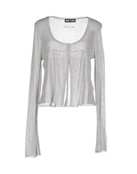 Who S Who Knitwear Cardigans Women Grey