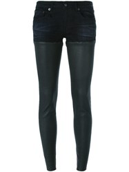 R 13 R13 Short And Legging Combo Black