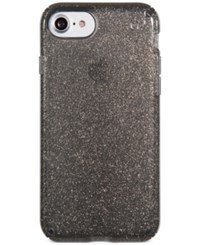Speck Presidio Glitter Iphone 7 Case Onyx Black With Gold Glitter