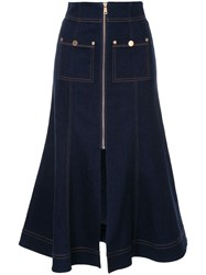 Alice Mccall Azure Skirt Blue