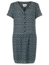 Harris Wilson Noella Printed Dress Navy