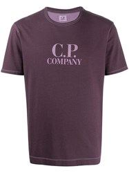 C.P. Company Cp Central Chest Logo Tee 60
