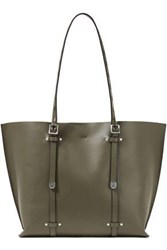 Rag And Bone Woman Field Studded Leather Tote Army Green