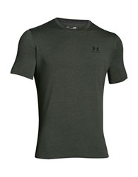 Under Armour Charged Cotton Sportstyle T Shirt Charcoal