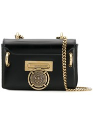 Balmain Mini Bbox Lion Shoulder Bag Black